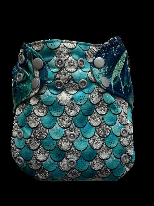Dragon Premium BTP Positioned charcoal pocket