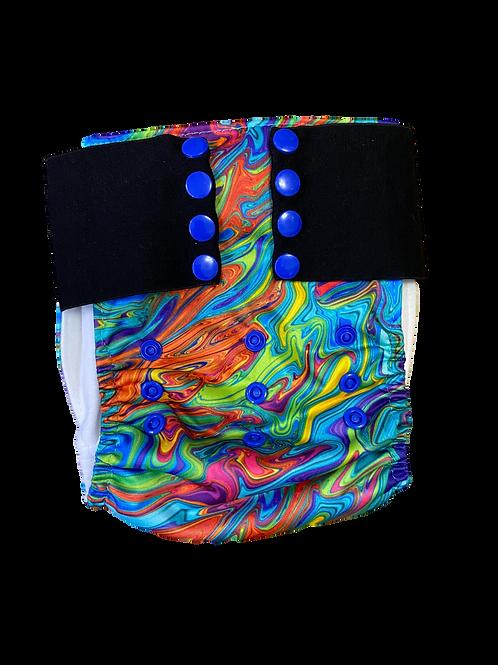 Rainbow marble Pull-up