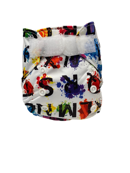 ABC Paint Newborn Wrap