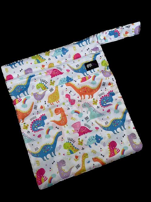 Rainbow Dinos Medium Bag