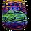 Thumbnail: Rainbow zebra  Premium BTP charcoal pocket