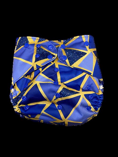 Brilliantly blue Junior Wrap