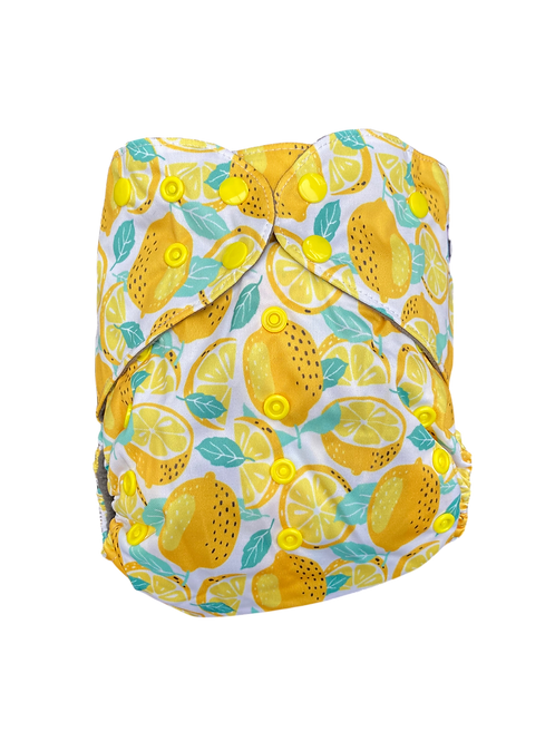 lemons Junior charcoal pocket