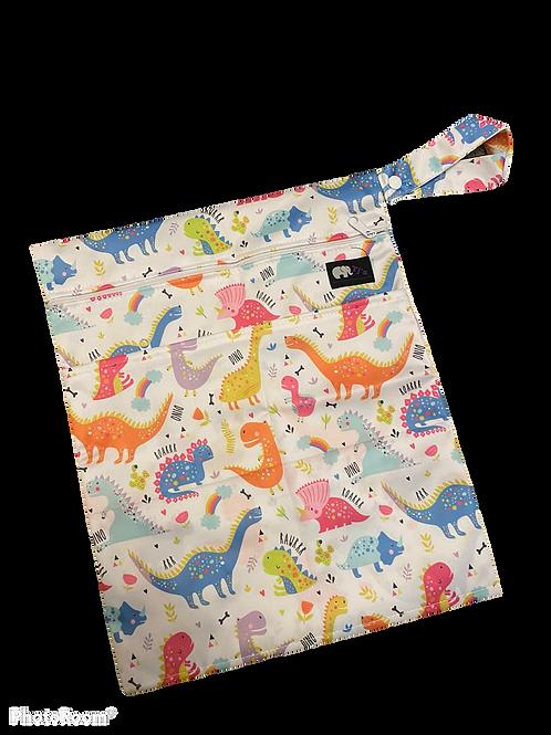 Rainbow Dino Medium Bag