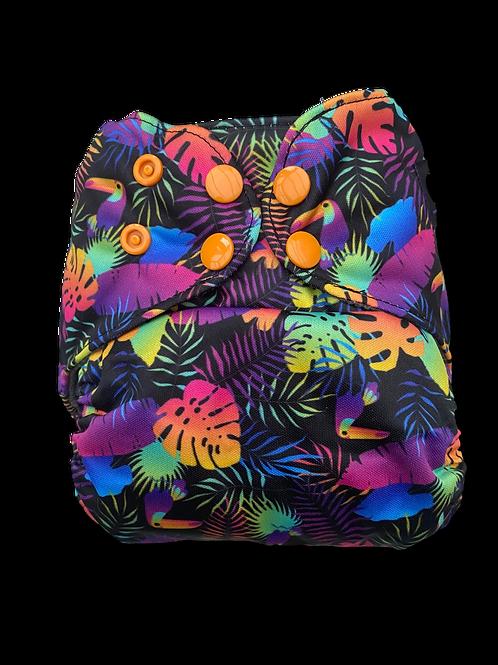 Neon Jungle Premium BTP charcoal pocket