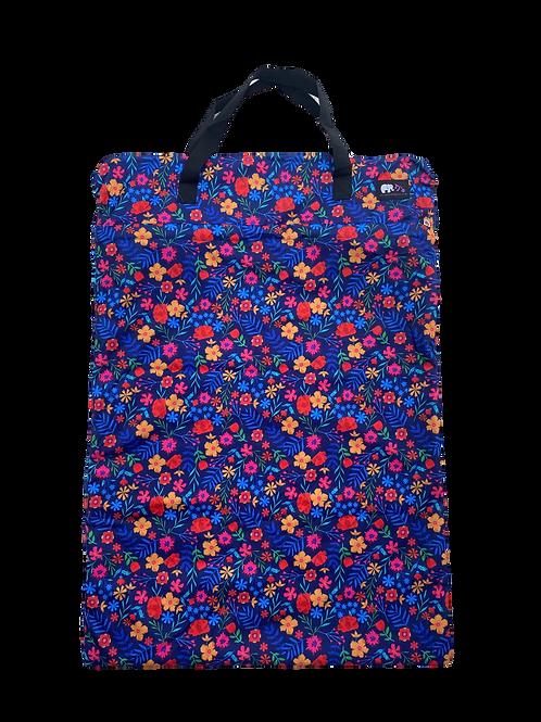 Bright Flowers xl bag