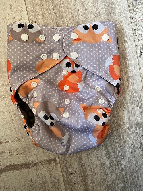 Grey fox Junior charcoal pocket