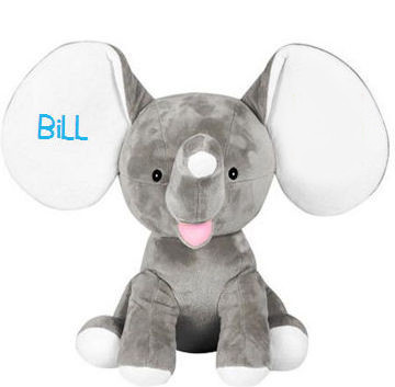 Dumbo Elephant Ear Embroidery