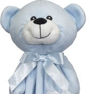"Personalized 20"" Lovie (Blue Bear)"