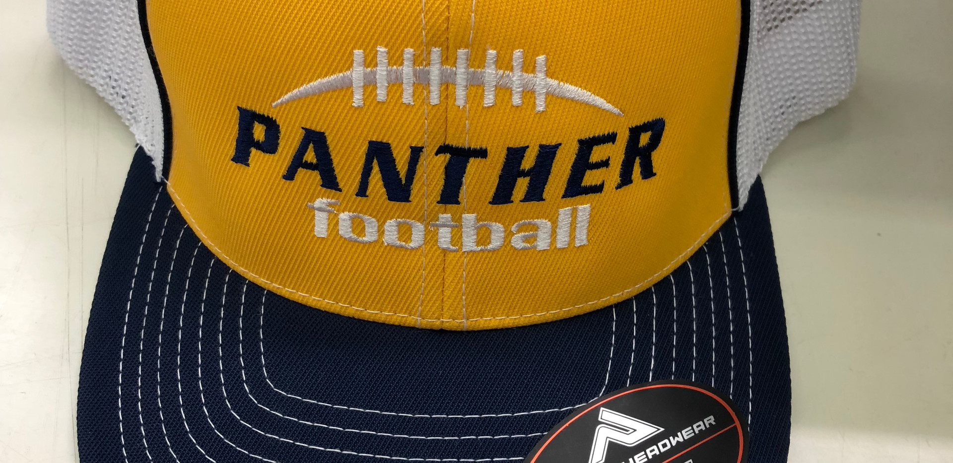 Panther Football Fitted Cap
