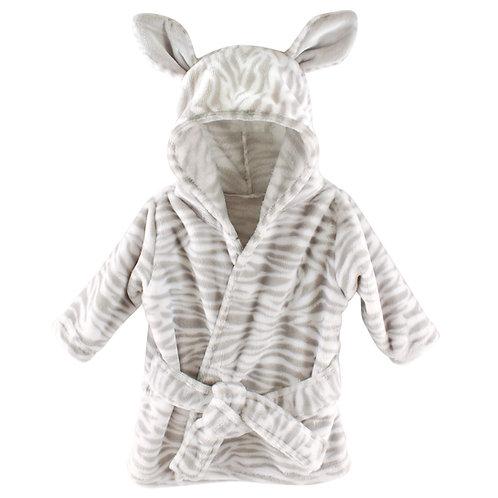 Personalized Hooded Bath Robe (Zebra)