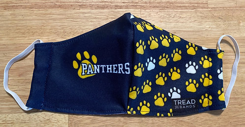 Performance Material Panther Pride Mask