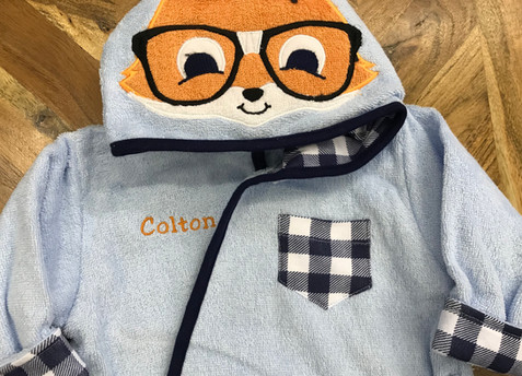 Nerdy Fox Robe