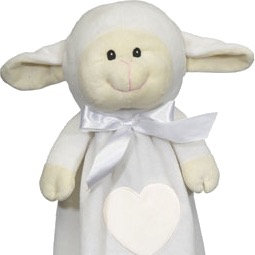 "Personalized 20"" Lovie (Lamb)"