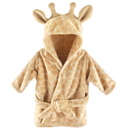 Personalized Hooded Bath Robe (Giraffe)