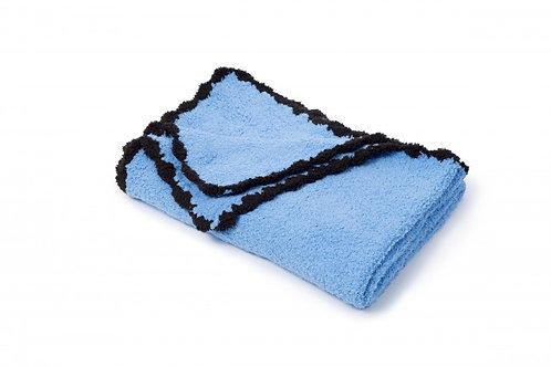 Scallop Chenille Blanket (Riviera Deep Blue)