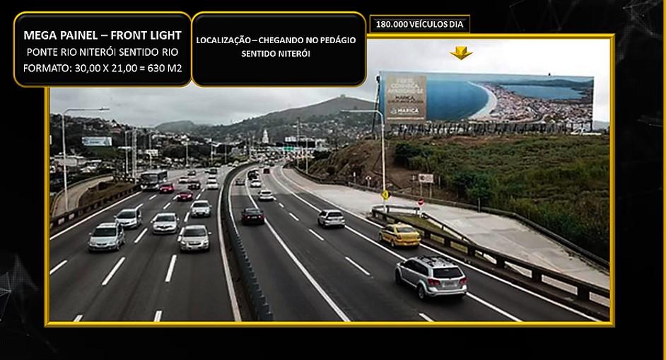 MEGA PAINEL 630 M2 PRÓXIMO PEDÁGIO