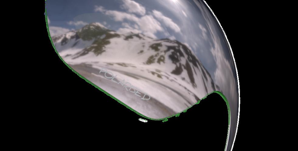 Mirrored Chrome Polarised Lens - DIABLO