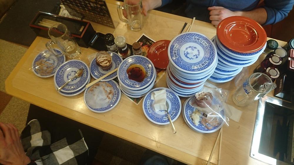 Sushi Train......40 dishes!