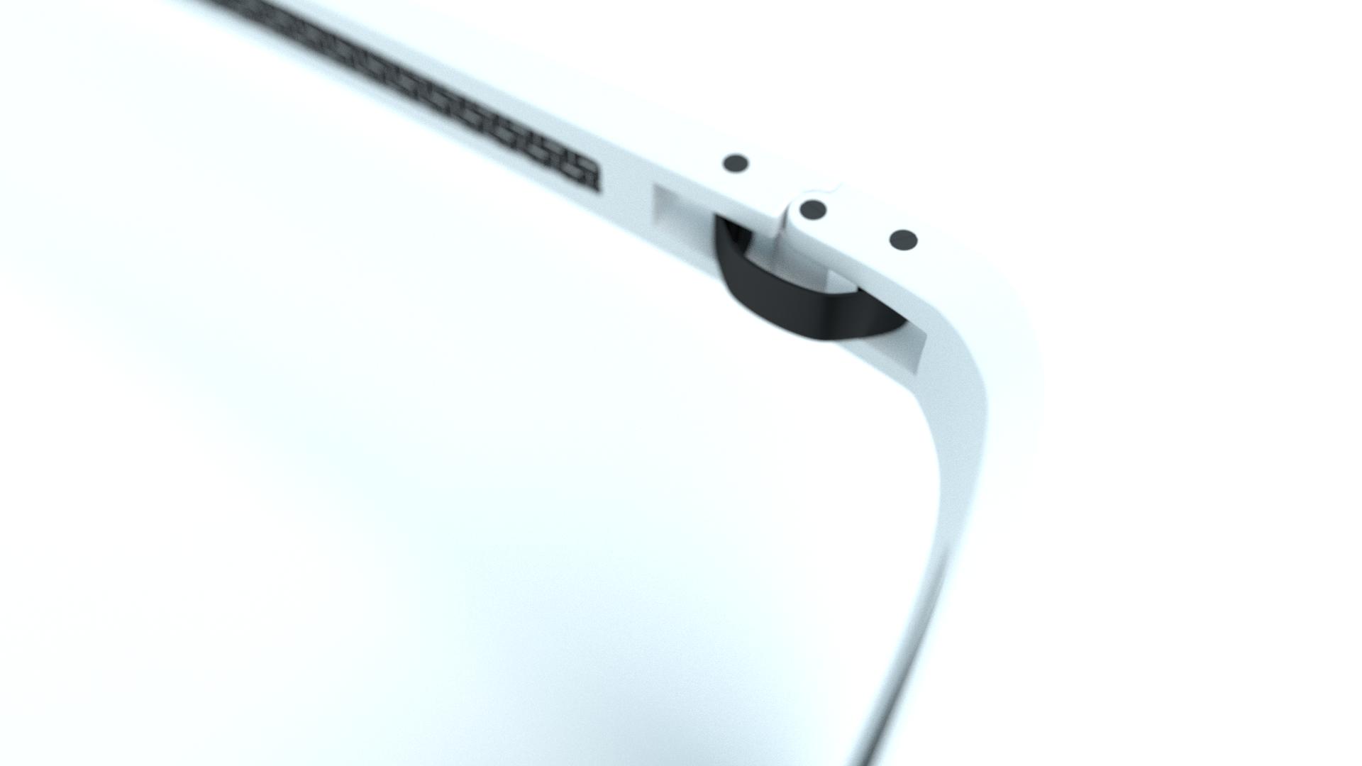 Panda Optics Tide White Polarised Sunglasses