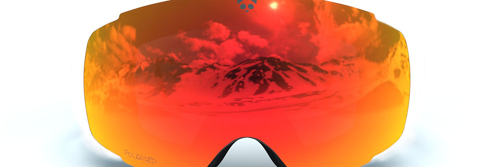 Red Polarised Lens - COBALT