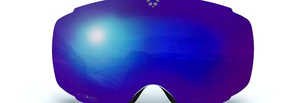 Blue Polarised Lens - COBALT
