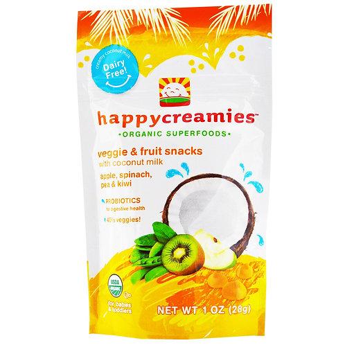 Nurture Inc. HappyCreamies 有機椰奶乳酪乾 (蘋果菠菜)