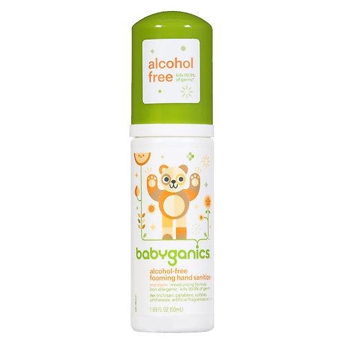 BabyGanics  無酒精消毒搓手液 50ml 輕便裝 柑橘味