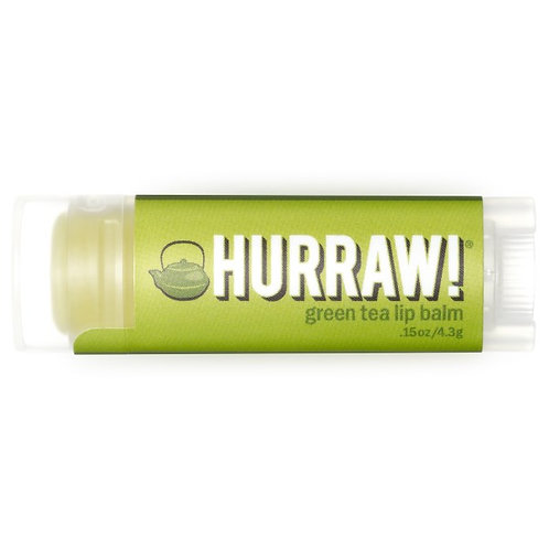 Hurraw 天然有機潤唇膏 - 綠茶 (4.3g)