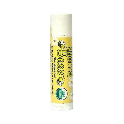 美國 Sierra Bees 有機潤唇膏 (香草味)