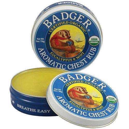 Badger 有機通鼻舒緩呼吸膏 (56g)