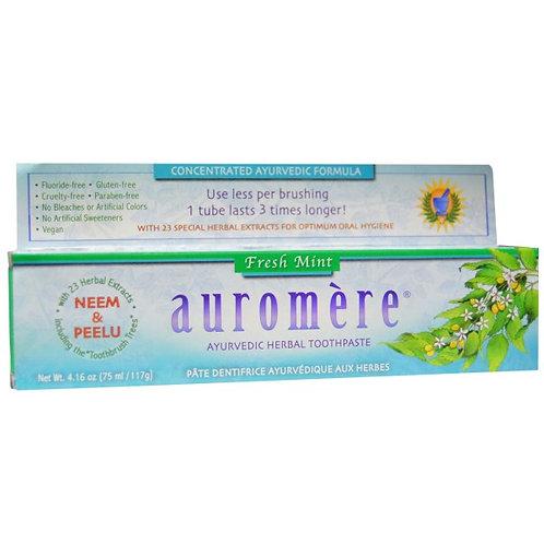 Auromere 草本薄荷牙膏 - 薄荷味 (117g)