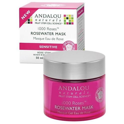 Andalou Naturals 安達露絲 1000 Roses™ 花卉水修復面膜