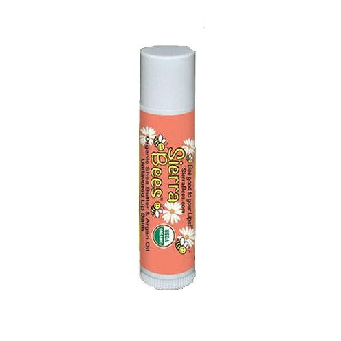 美國 Sierra Bees 有機潤唇膏 (乳木果堅果油)