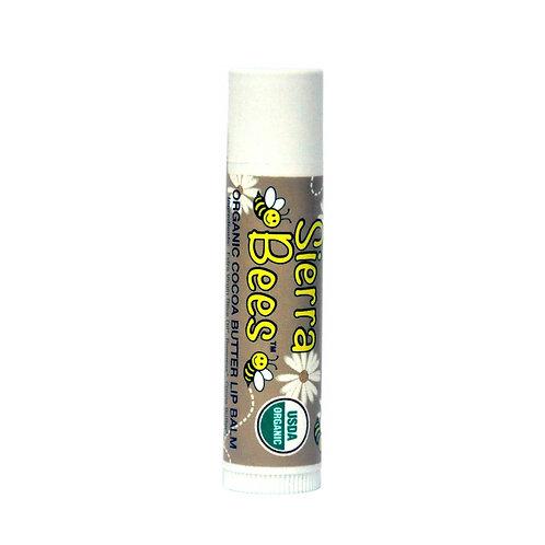 美國 Sierra Bees 有機潤唇膏 (可可味)
