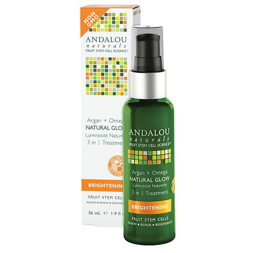 Andalou Naturals 安達露絲 摩洛哥堅果奧米加三合一精華油