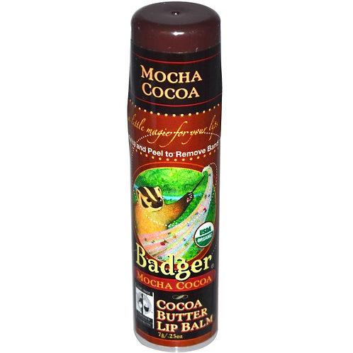 Badger 有機可可油潤唇膏 (咖啡可可油香味)