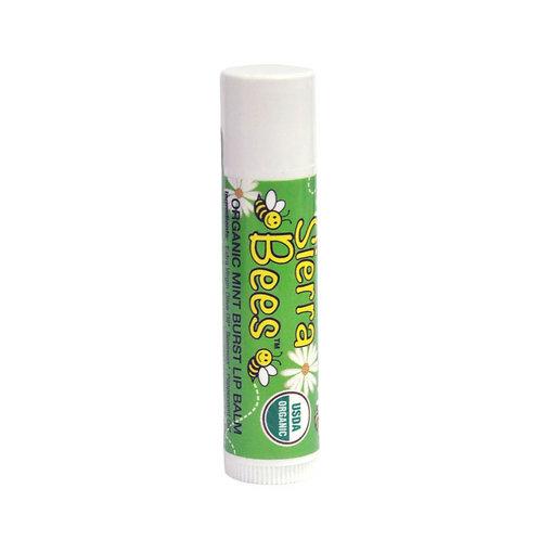 美國 Sierra Bees 有機潤唇膏 (薄荷味)