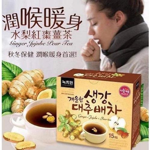 韓國水梨紅棗薑茶(1盒15包)