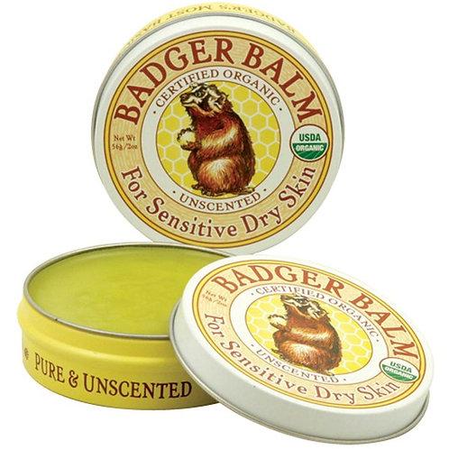 Badger 有機潤膚膏 - 無香味 (56g)