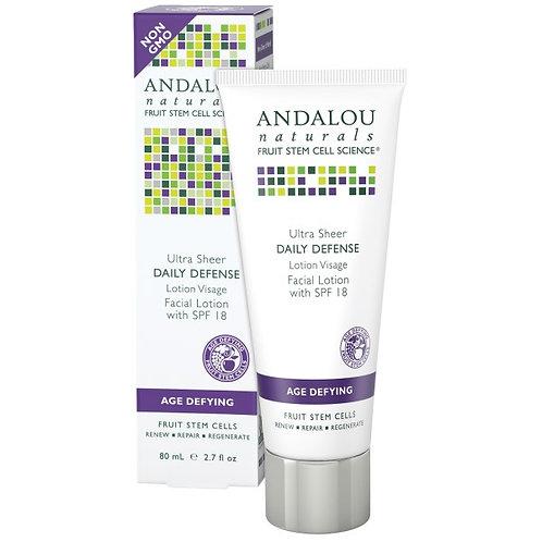 Andalou Naturals 安達露絲 SPF18 透薄隔離防曬修護乳