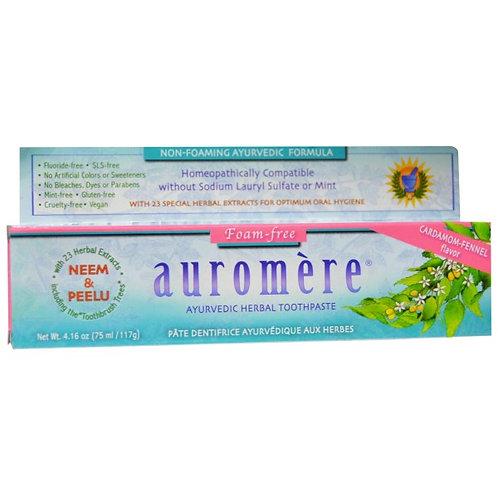 Auromere 草本薄荷牙膏 - 小豆蔻茴香味 (117g)