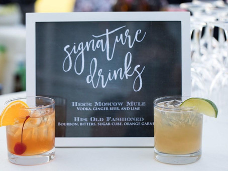 Wine Recomendations and Signature Drinks
