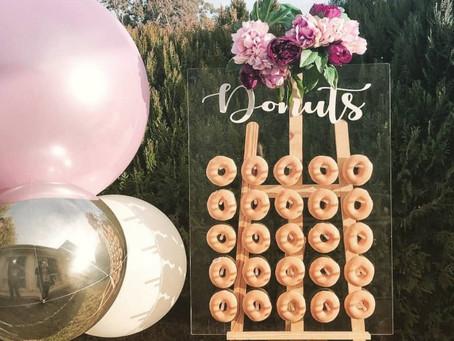 Donut Walls and Guacamole Bars