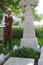 Hardy designed the stone himself