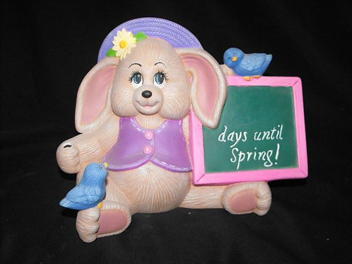 Bunny Countdown to Spring