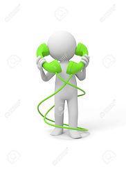 15430487-contact-téléphonique-un-peuple-