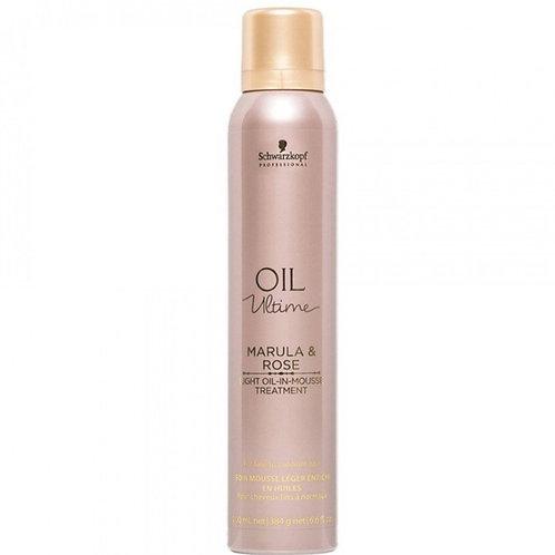 Schwarzkopf Oil Ultime Marula & Rose Light Oil-In-Mousse Treatment