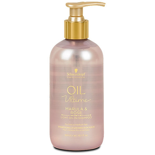 Schwarzkopf Oil Ultime Marula & Rose Light Oil-In-Shampoo