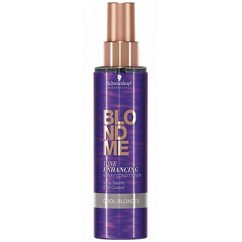 Schwarzkopf Blond Me Tone Enhancing Spray Conditioner Cool Blondes